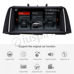 ANDROID 10.25 pollici navigatore per BMW Serie 5 F10 F11 2013-2016 Sistema originale NBT GPS WI-FI Bluetooth MirrorLink