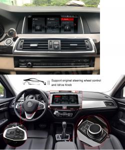 ANDROID 10.25 pollici navigatore per BMW Serie 5 F10/F11 2013-2016 Sistema originale NBT GPS WI-FI Bluetooth MirrorLink