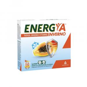 ENERGYA INVERNO 14 BUSTE - PAPAYA, GINSENG E VITAMINE