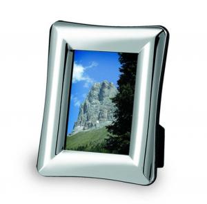 Portafoto in silver plated cm.24,5x19x2,5h