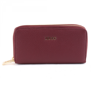 Woman wallet Liu Jo ISOLA N69188 E0033 RUBY WINE