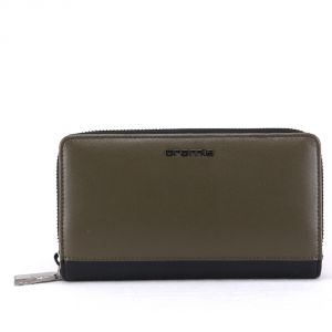 Woman wallet Cromia BUBBLY 2630856 NERO+OLIVA