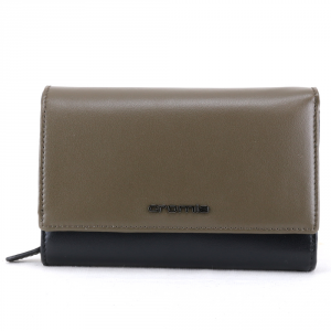 Woman wallet Cromia BUBBLY 2610854 NERO+OLIVA
