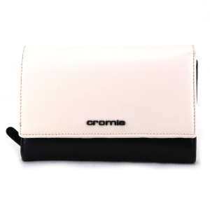 Woman wallet Cromia BUBBLY 2610854 NERO+BIANCO