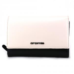 Portefeuille pour femme Cromia BUBBLY 2610854 NERO+BIANCO