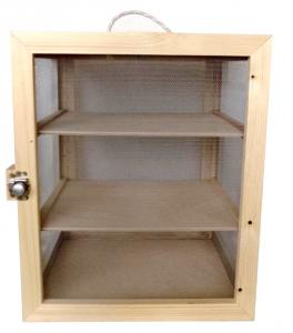Moschiera in legno cm. 42X31X51