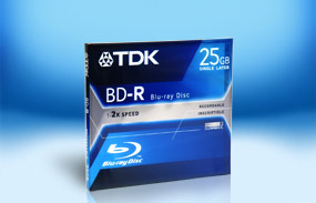 TDK BD-R 25Gb 2x Jewel Case 25GB