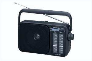 Panasonic RF-2400EJ9-K Personale Analogico Nero radio