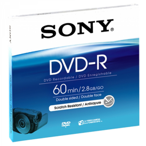 Sony DMR60A DVD vergine