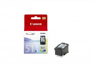 Canon CL-511 Ciano, Giallo cartuccia d'inchiostro