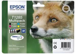 Epson C13T12854022 5.8ml 5.9ml 515pagine Nero, Ciano, Giallo cartuccia d'inchiostro