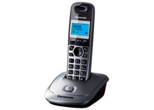 Panasonic KX-TG2511JTM DECT Identificatore di chiamata Nero, Grigio telefono
