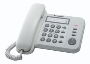 Panasonic KX-TS520EX1B telefono Telefono analogico Nero Identificatore di chiamata