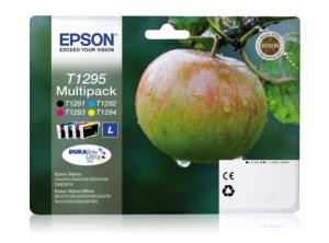 Epson T1295 7ml 11.2ml Nero, Ciano, Giallo cartuccia d'inchiostro