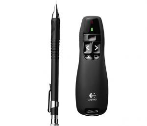 Logitech R400 RF Nero puntatore wireless