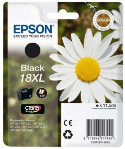Epson C13T18114022 11.5ml 470pagine Nero cartuccia d'inchiostro