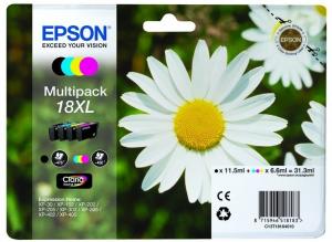 Epson C13T18164022 6.6ml 11.5ml 470pagine 450pagine Nero, Ciano, Giallo cartuccia d'inchiostro
