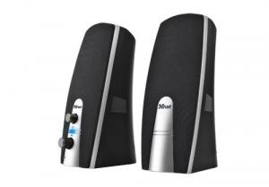 Trust MiLa 2.0 Speaker Set Stereo portable speaker 5W Nero, Argento