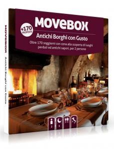 MOVEBOX COFANETTO ANTICHI BORGHI CON GUSTO