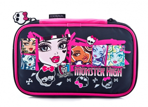 Indeca DS Monster High Custodia a libro Nintendo Multicolore