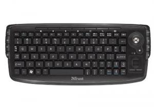 Trust Compact Wireless Entertainment RF Wireless Nero tastiera