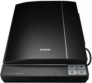 Epson V370 Scanner piano 4800 х 4800DPI A4 Nero
