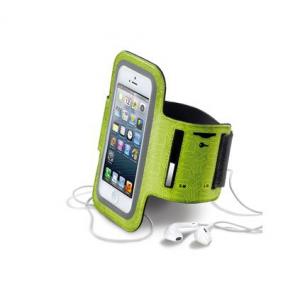 Cellularline ARMBANDL Fascia da braccio Verde custodia per cellulare