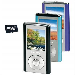 New Majestic SDA-4357 Lettore MP3 Nero, Argento 4 GB
