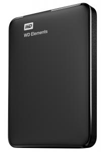 Western Digital WD Elements Portable 1000GB Nero disco rigido esterno