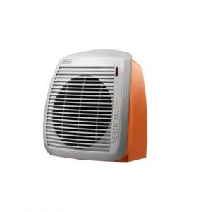DeLonghi HVY1020.O Interno Arancione 2000W Stufetta con elettroventola