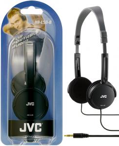 JVC HA-L50-B cuffia Circumaurale Padiglione auricolare Nero