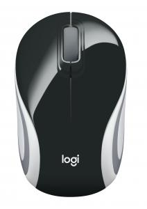 Logitech M187 mouse RF Wireless Ottico 1000 DPI Ambidestro Nero