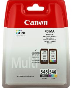 Canon PG-545/CL-546 Multipack Nero, Ciano, Magenta, Giallo cartuccia d'inchiostro