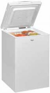 Whirlpool WHS1021 Libera installazione A pozzo 100L A+ Bianco congelatore