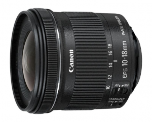 Canon EF-S 10-18mm f/4.5-5.6 IS STM + EW-73C + Lens Cloth SLR Ultra-wide lens Nero