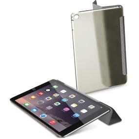 Cellularline GLASSVIEWIPAD6K custodia per tablet Cover Nero, Trasparente