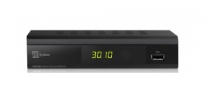 TELE System TS3010HD Satellite Full HD Nero set-top box TV