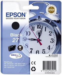 Epson C13T27014022 6.2ml 350pagine 300pagine Nero cartuccia d'inchiostro