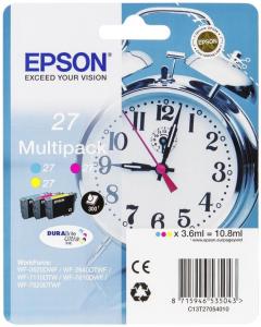 Epson C13T27054022 3.6ml 300pagine Ciano, Magenta, Giallo cartuccia d'inchiostro