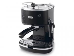 DeLonghi ECO 311.BK Libera installazione Manuale Macchina per espresso 1.4L 2tazze Nero, Acciaio inossidabile