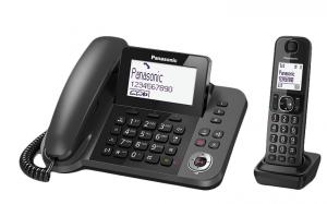 Panasonic KX-TGF320E DECT Identificatore di chiamata Nero telefono