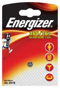 Energizer 364/363 Argento-Ossido 1.55V batteria non-ricaricabile