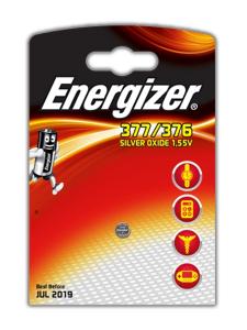 Energizer 377/376 Argento-Ossido 1.55V batteria non-ricaricabile