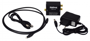 Karma Italiana CONV 1DA convertitore audio Nero