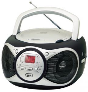 Trevi CD 512 Digitale 6W Nero, Argento radio CD