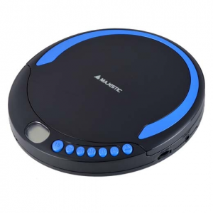 New Majestic DM-1550 Portable CD player Nero, Blu