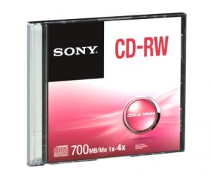 Sony CRW80SS CD vergine CD-RW 700 MB 1 pezzo(i)