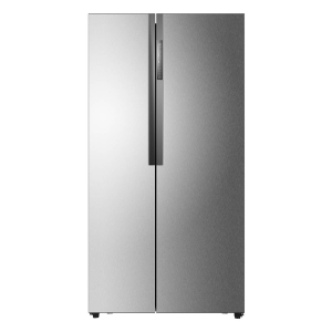 Haier HRF-521DM6 Libera installazione 518L A+ Acciaio inossidabile frigorifero side-by-side