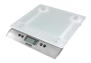 Salter 1242WHDR Da tavolo Rettangolo Bilancia da cucina elettronica Bianco bilancia da cucina