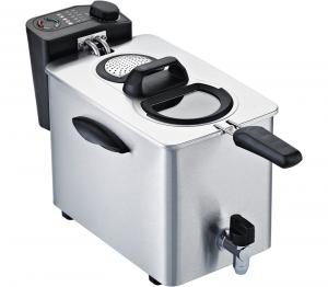 RGV FR TYPE4L Singolo Indipendente Friggitrice 4L 2500W Nero, Acciaio inossidabile friggitrice